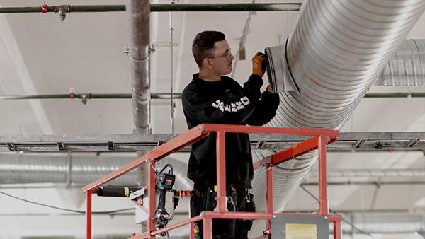 Örebro Sotarn hjälper dig med ombyggnad och tillbyggnad av ventilation.